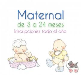 Maternal inscripciones
